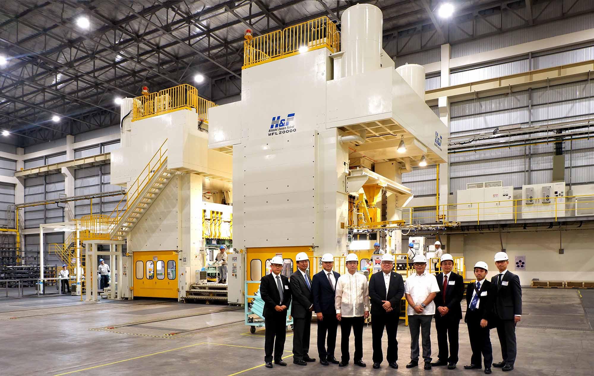 Mitsubishi PH Opens New Stamping Plant in Laguna ...