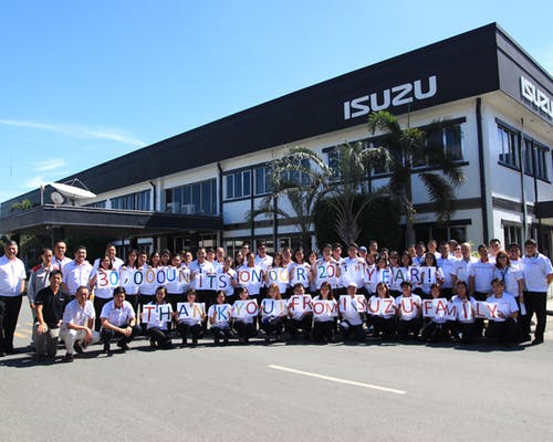 isuzu-Highest-Annual-Sales-Record