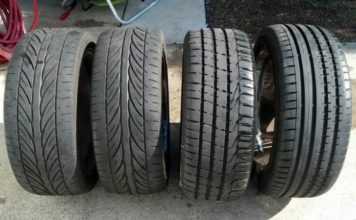 Mismatched Tyres